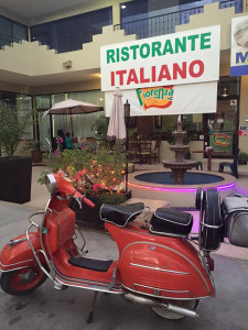 Vespa at Fiorenza